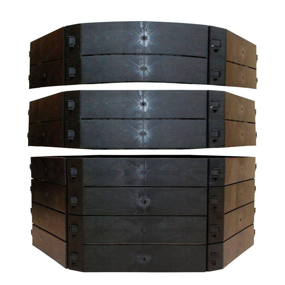 khw schnellkomposter bxtxh 130x130x100 cm otto. Black Bedroom Furniture Sets. Home Design Ideas