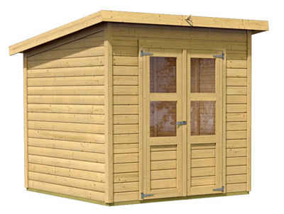 gertehaus metall flachdach simple gartenhaus gertehaus m schuppen flachdach pultdach metall. Black Bedroom Furniture Sets. Home Design Ideas