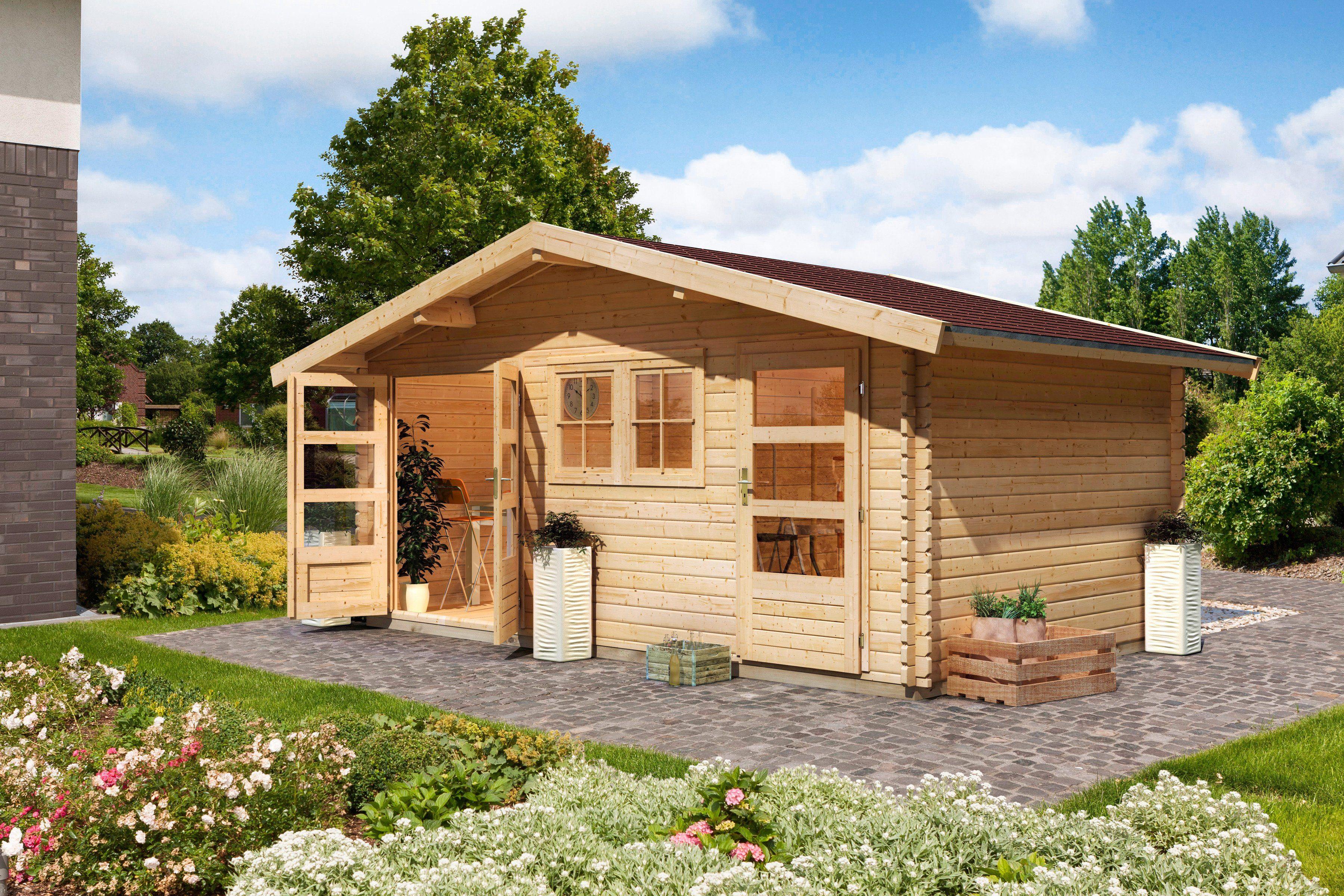 Karibu Gartenhaus »Fagor 2«, BxT: 492x312 cm