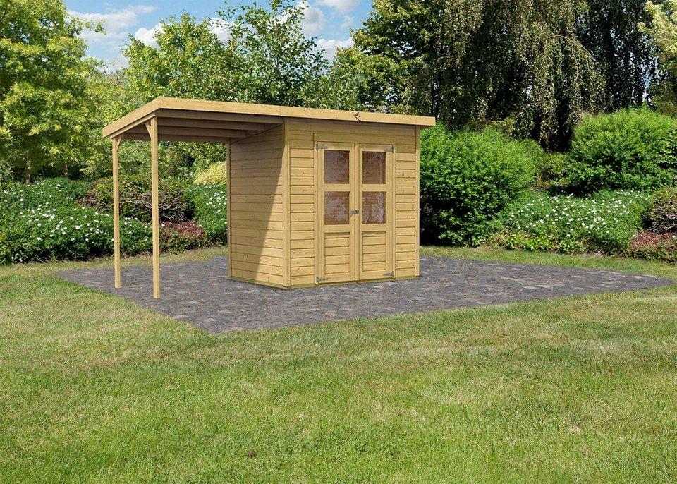 Set: Gartenhaus »Moisburg 3«, BxT: 213x214 cm in natur