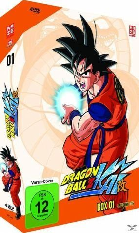 DVD »Dragonball Z Kai - Box 1 (4 Discs)«