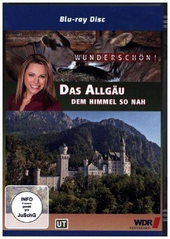 Blu-ray »Das Allgäu - dem Himmel so nah - Wunderschön!,...«