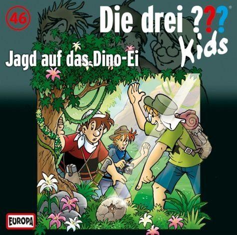 Audio CD »Die drei ??? Kids: Jagd auf das Dino-Ei / Die...«