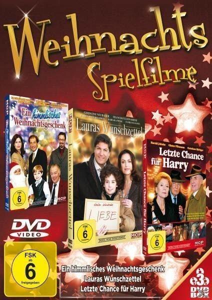 DVD »Lauras Wunschzettel, Letzte Chance für Harry,...«