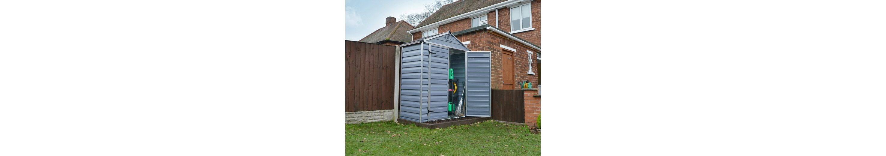 Kunststoffhaus »SKYLIGHT SHED 6x3«