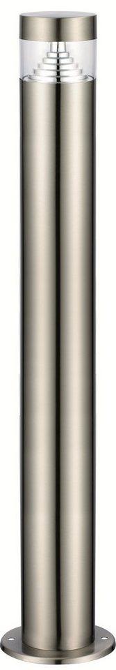 Standleuchte, Höhe 80 cm in silberfarben