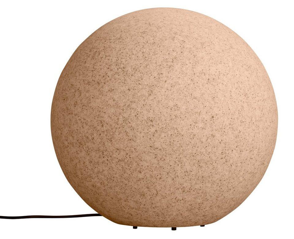 Leuchtkugel, sand 40cm in natur
