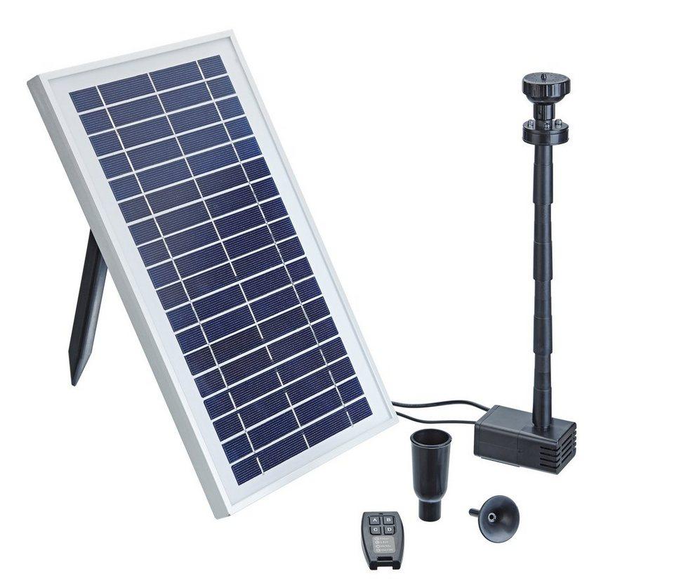 Solarteichpumpe »Pontec PondoSolar 600 Control« in schwarz