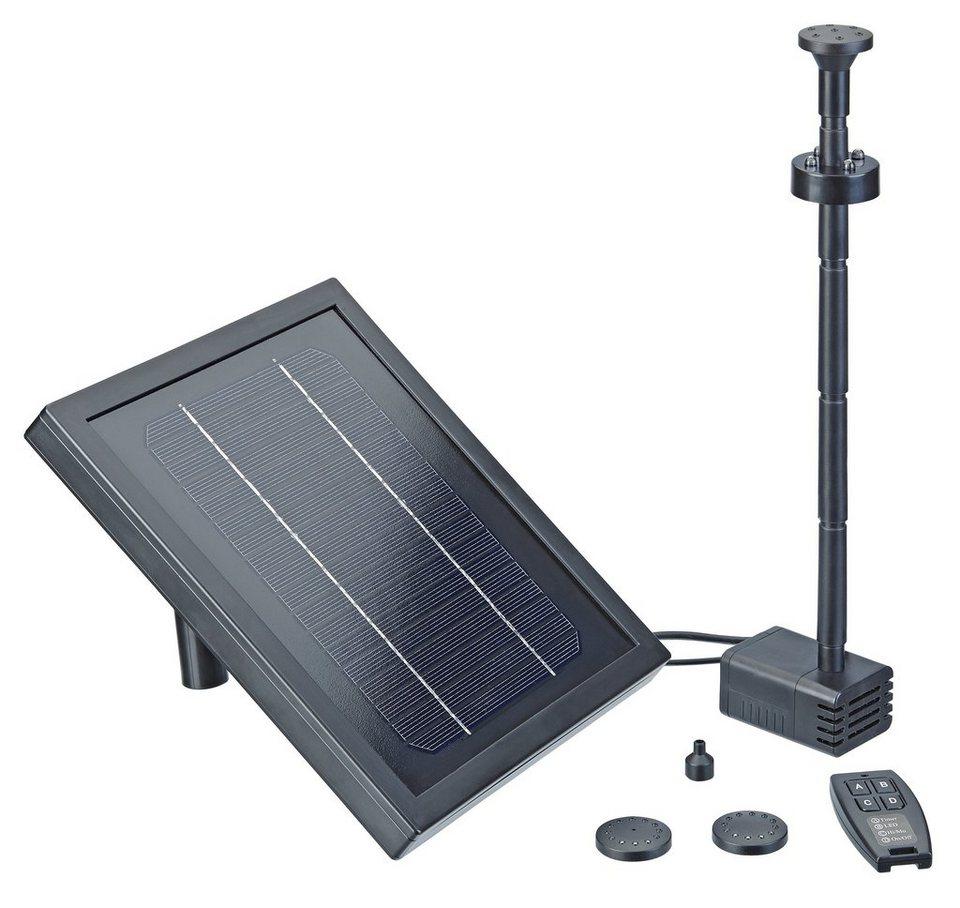 Solarteichpumpe »Pontec PondoSolar 250 Control« in schwarz