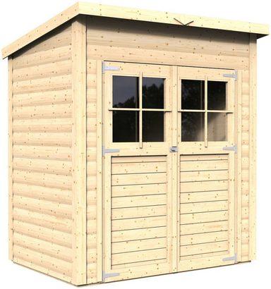 konifera gartenhaus alster 1 bxt 181x121 cm 19 mm. Black Bedroom Furniture Sets. Home Design Ideas