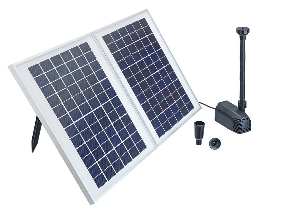 Solarteichpumpe »Pontec PondoSolar 1600« in schwarz