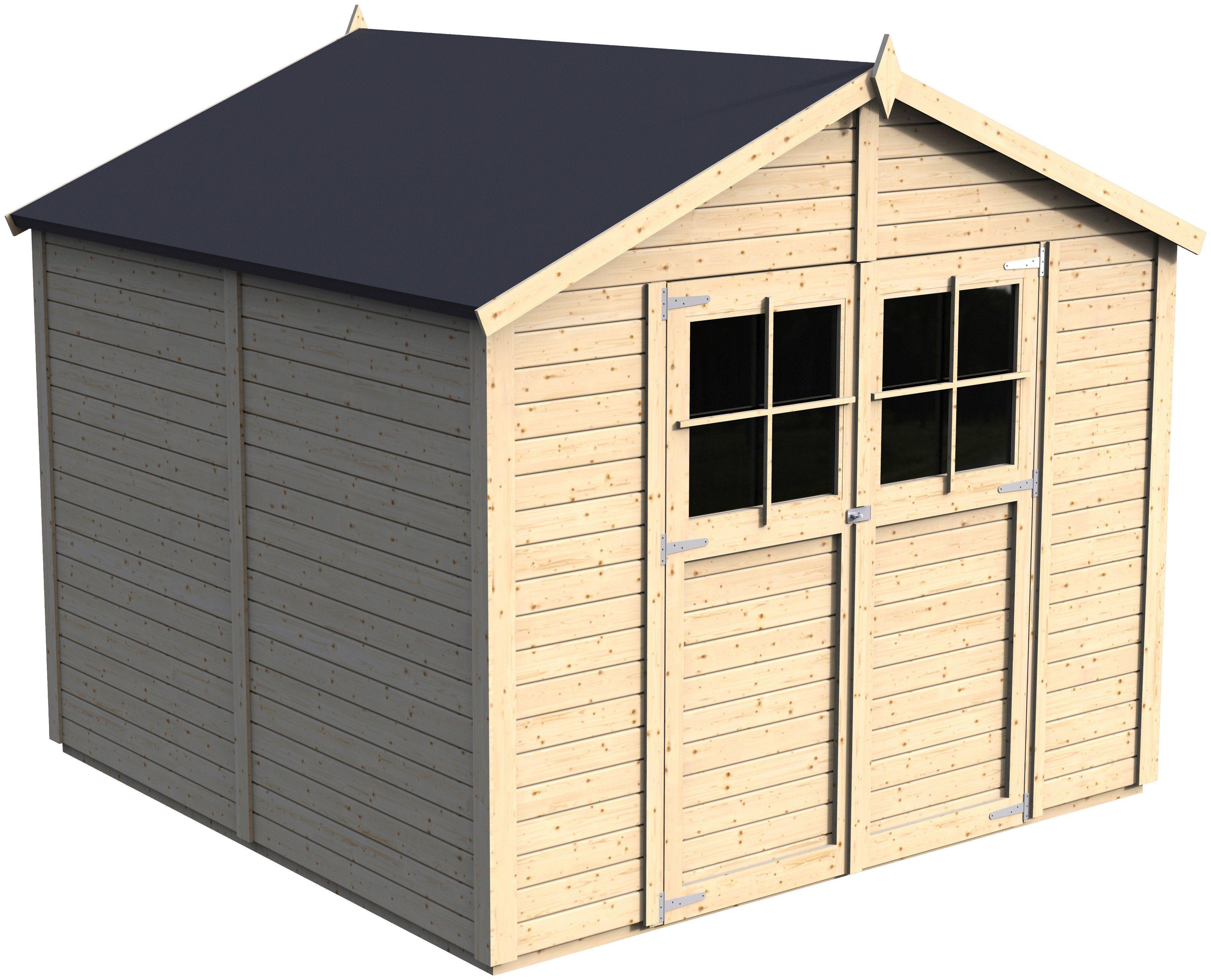 Gartenhaus »Osterbek 4«, BxT: 244x239 cm