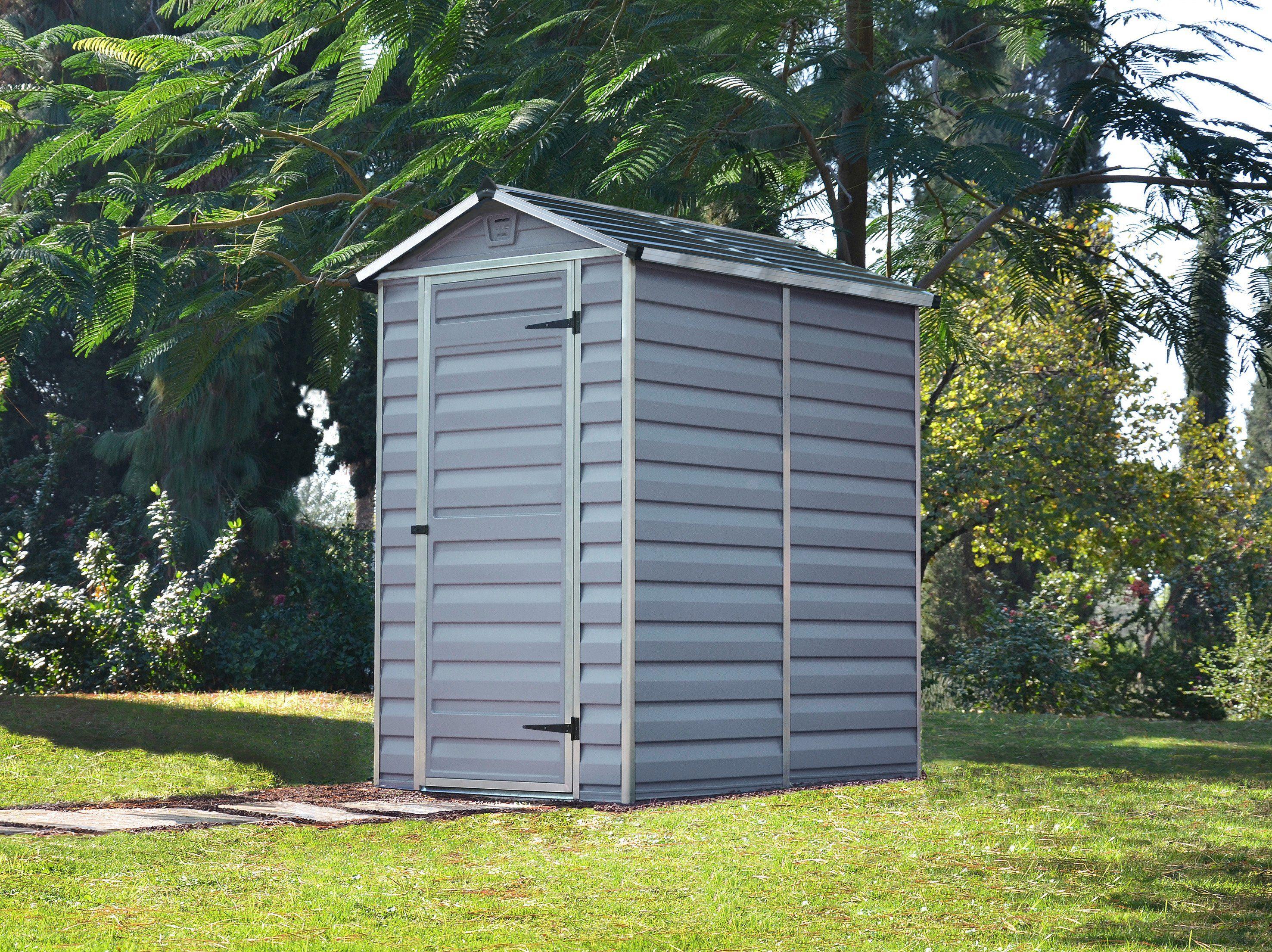 PALRAM Kunststoffhaus »Skylight 4x6«, Gesamtmaß BxT: 122x177 cm