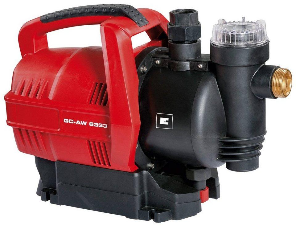 Hauswasserautomat »GC-AW 6333« in rot