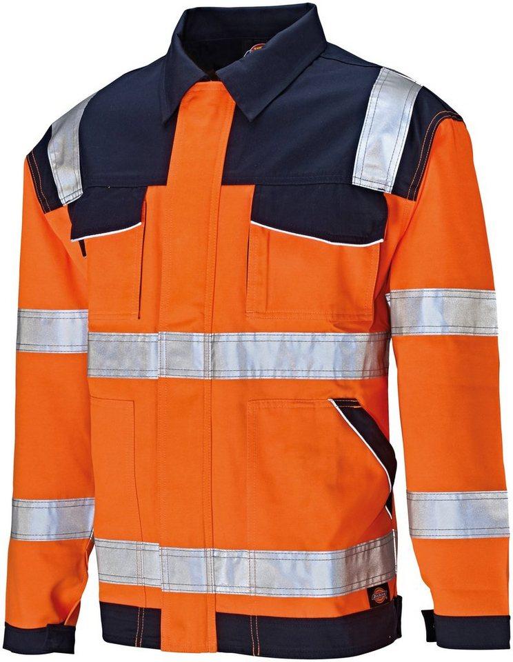 Arbeitsjacke »Industry« High Vis in blau/orange