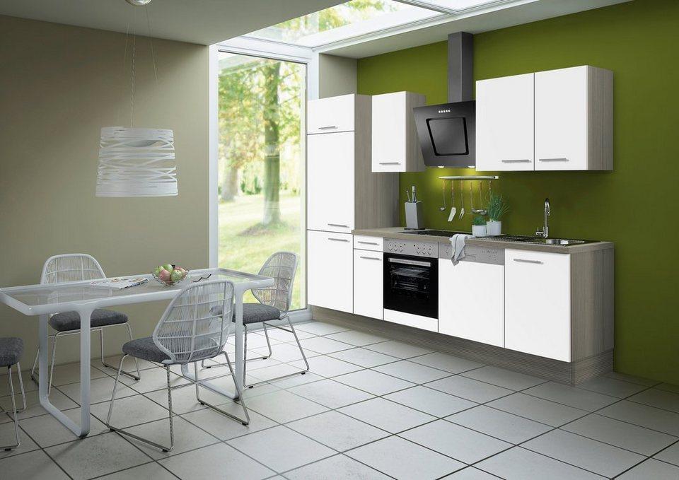 Optifit Küchenzeile ohne E-Geräte »Torger«, Breite 270 cm in weiß