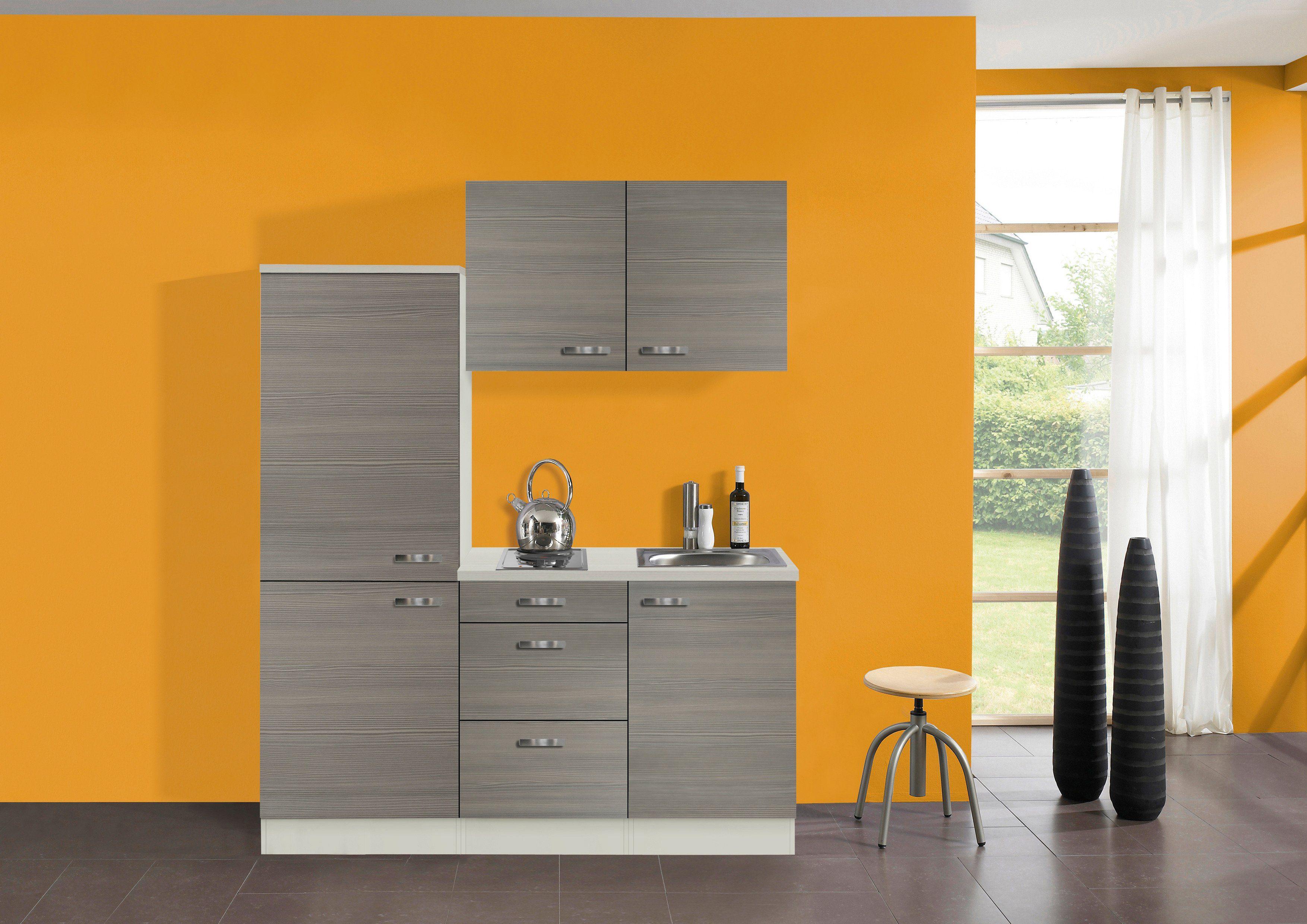 Küchenzeile mit E-Geräten »Vigo, Breite 160 cm«