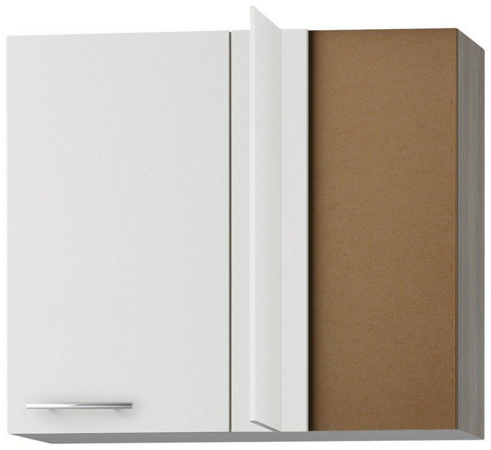 Eck-Hängeschrank »Torger«, Breite 85 x 45 cm in weiß