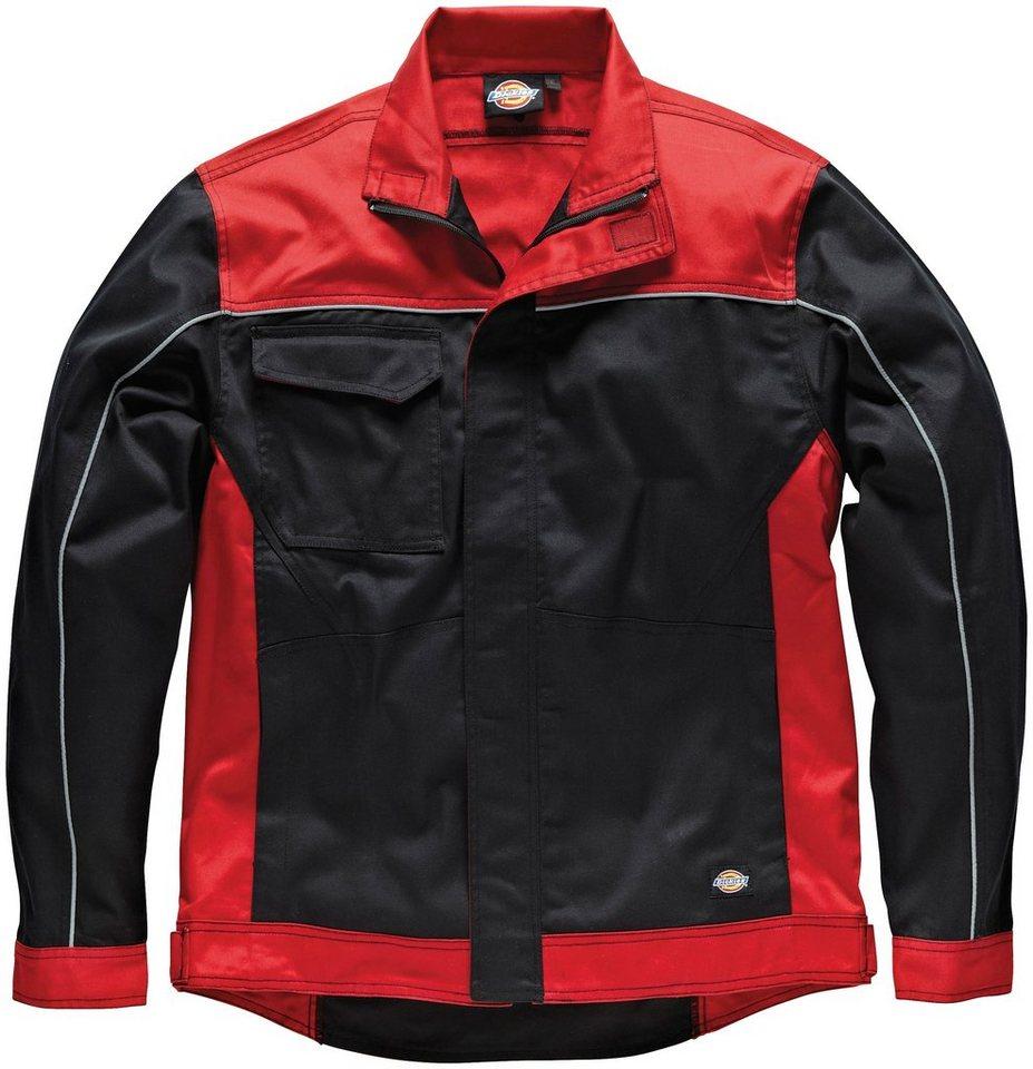 Arbeitsjacke »Industry 260« in rot/schwarz