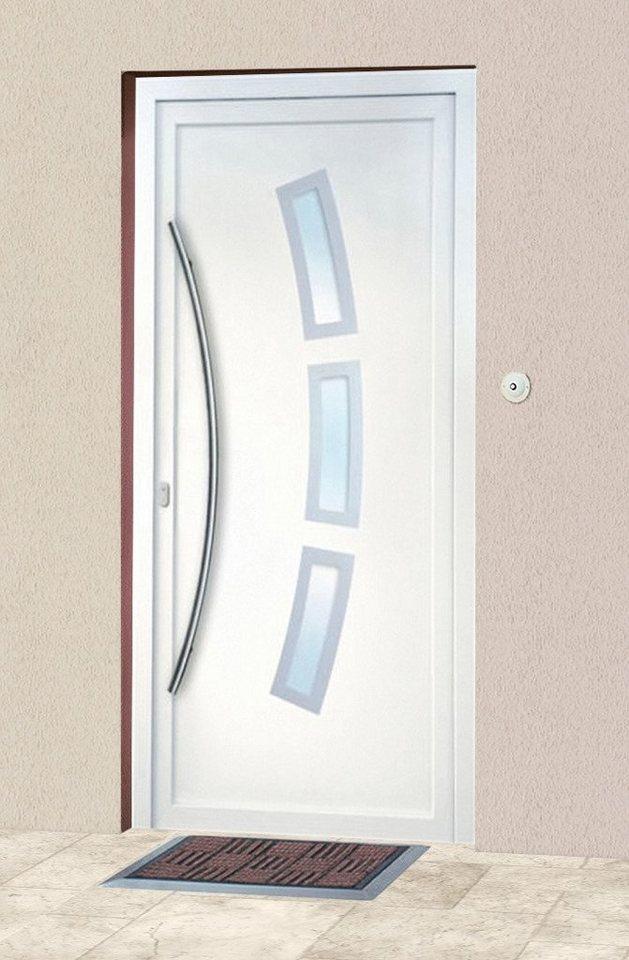 Kunststoff-Haustür »2«, BxH: 98x200 cm in weiß
