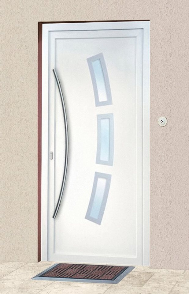 Kunststoff-Haustür »2«, BxH: 98x208 cm in weiß