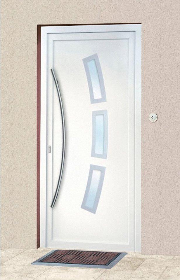 Kunststoff-Haustür »2«, BxH: 108x208 cm in weiß