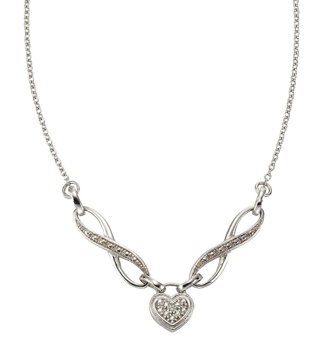 firetti Collier mit Diamant, »Herz«