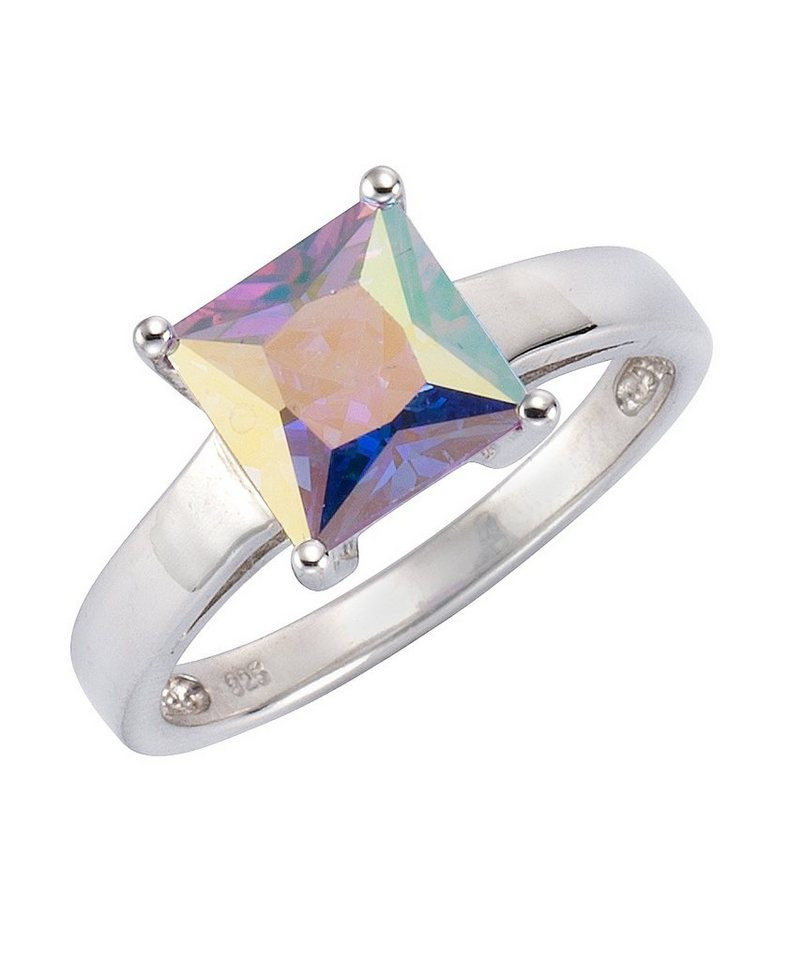 firetti Ring mit Zirkonia in Silber 925/lavendel mystic