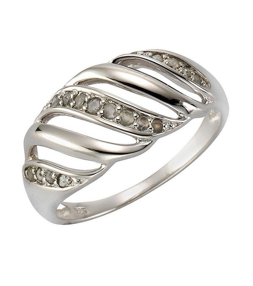 firetti Ring mit Diamant in Silber 925
