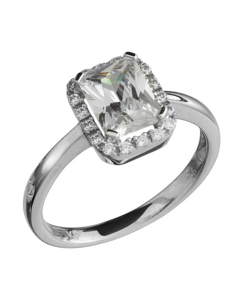 firetti Ring mit Zirkonia in Silber 925