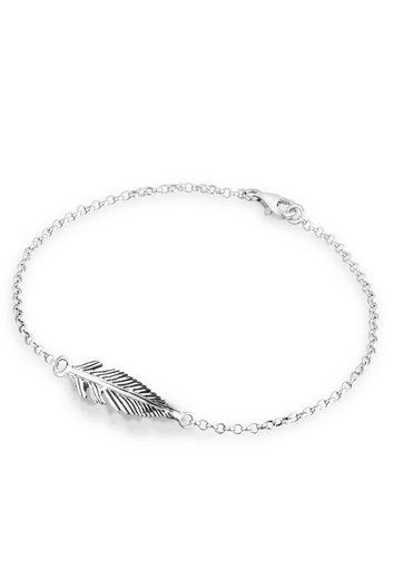 Elli Armband »Feder Silber«