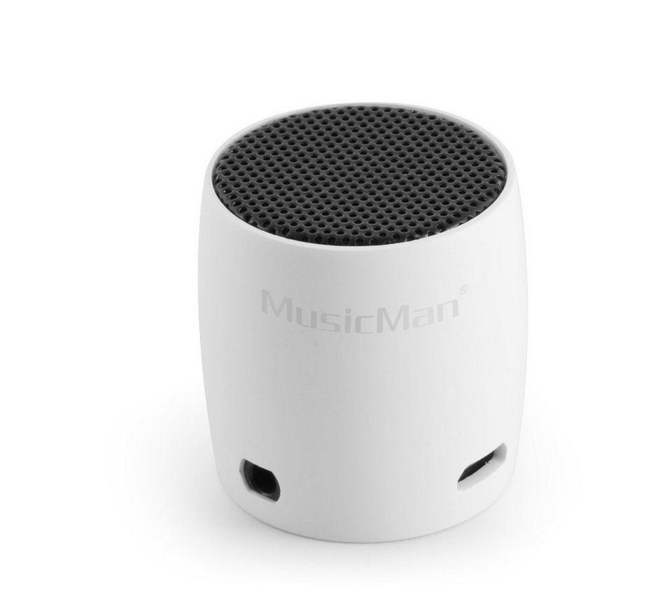 Technaxx Lautsprecher »MusicMan NANO BT-X7 weiss«