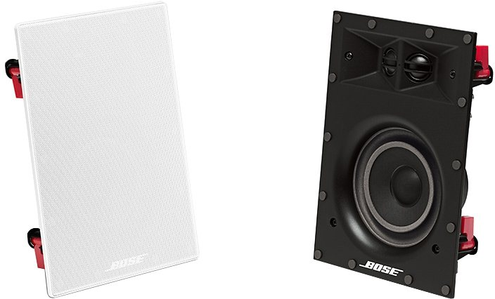 Bose® Virtually Invisible® 691 in-wall speaker in weiß