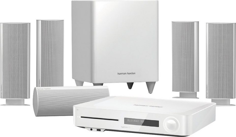 harman kardon bds 785sw 5 1 heimkinosystem blu ray player. Black Bedroom Furniture Sets. Home Design Ideas