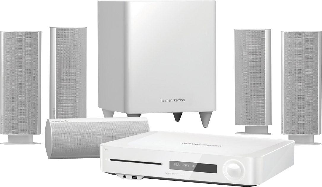 Harman/Kardon BDS 785SW 5.1 Heimkinosystem (Blu-ray-Player, 525 W, WLAN, Bluetooth, Spotify)