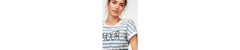 Boysen's T Shirt T Boysen's im Shirt Streifen mit mit Farbverlauf qwES4HST