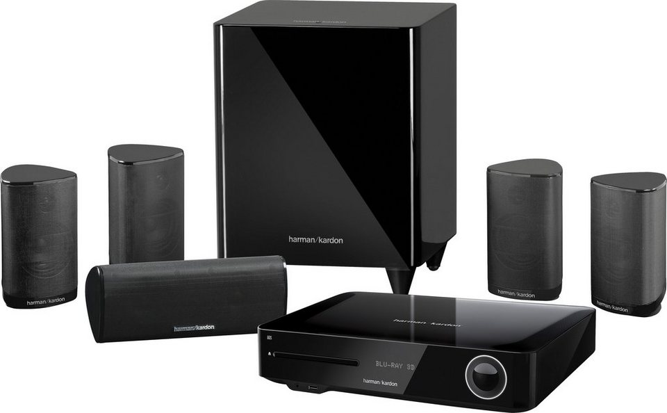 Harman/Kardon BDS 685S 5.1 Heimkinosystem (Blu-ray-Player, 525 W, WLAN, Bluetooth, Spotify) in schwarz