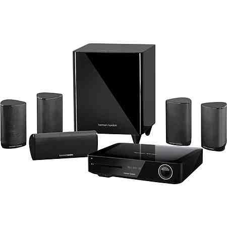 Harman/Kardon BDS 685S 5.1 Heimkinosystem (Blu-ray-Player, 525 W, WLAN, Bluetooth, Spotify)