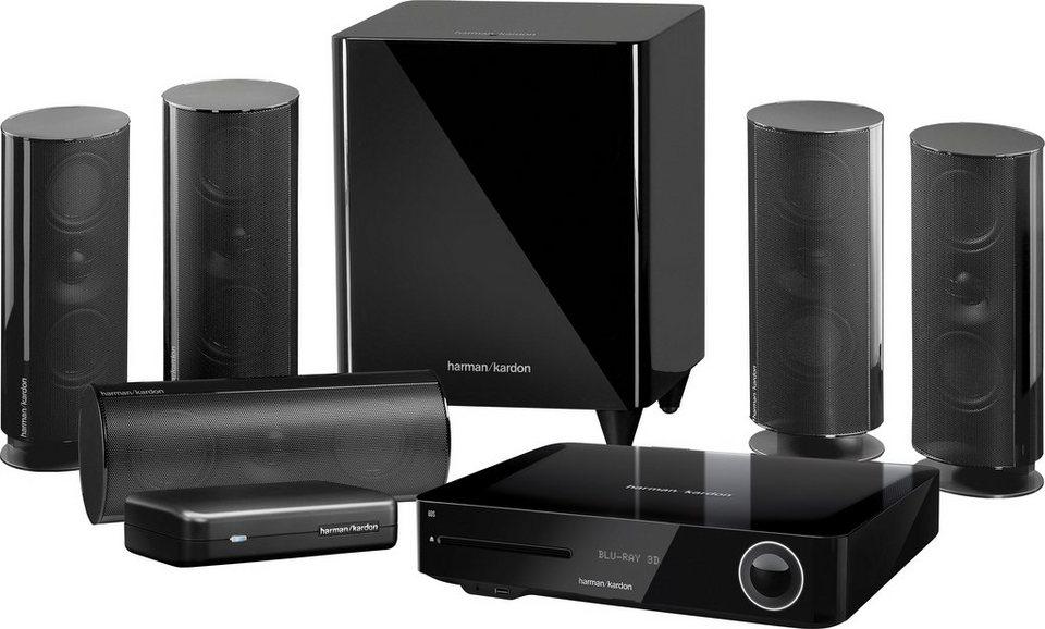 harman kardon bds 885s 5 1 heimkinosystem blu ray player. Black Bedroom Furniture Sets. Home Design Ideas