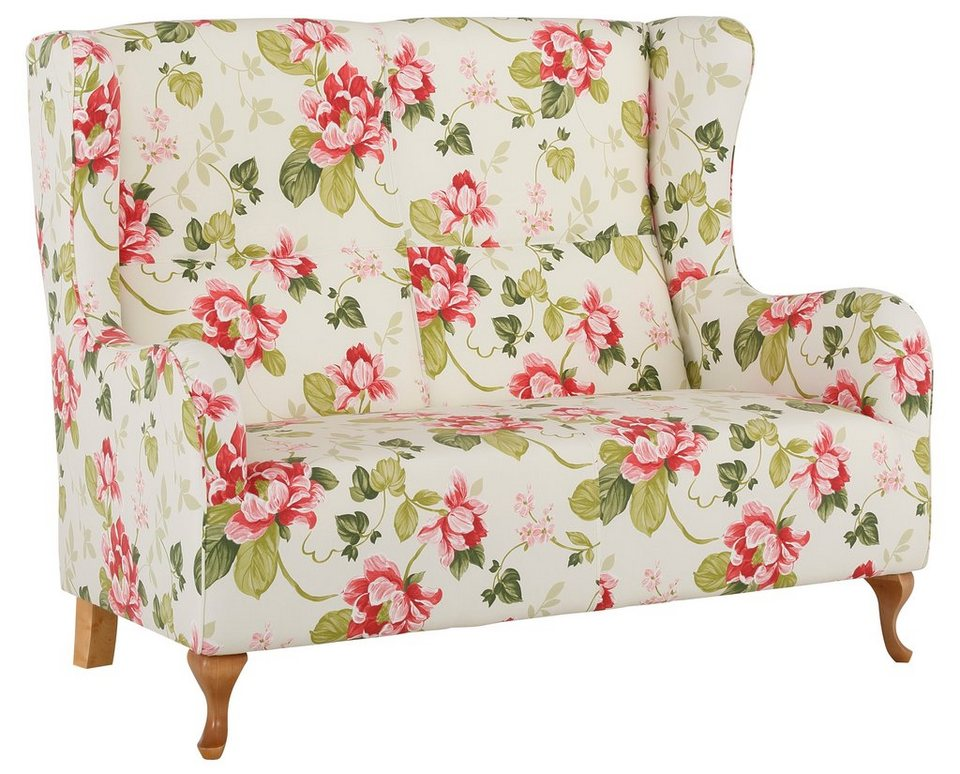 Home affaire 2-Sitzer »Gracia« in Blume rot
