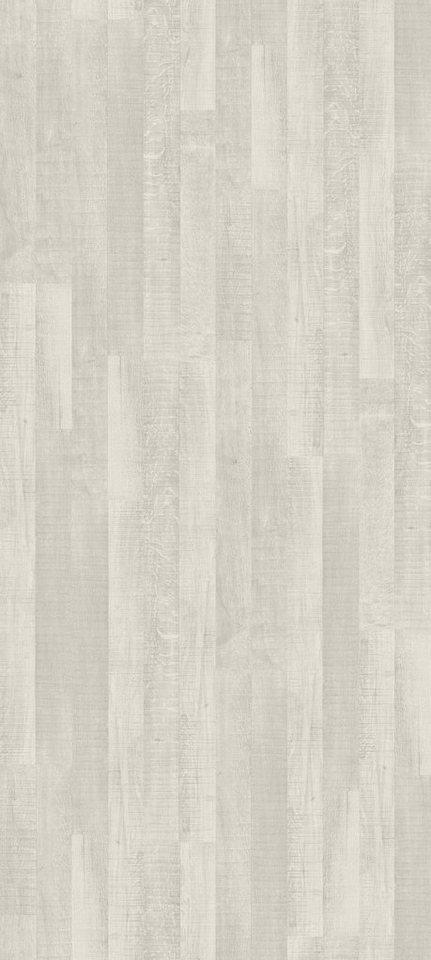 Laminat »Basic 200«, eiche weiß Nachbildung in weiß