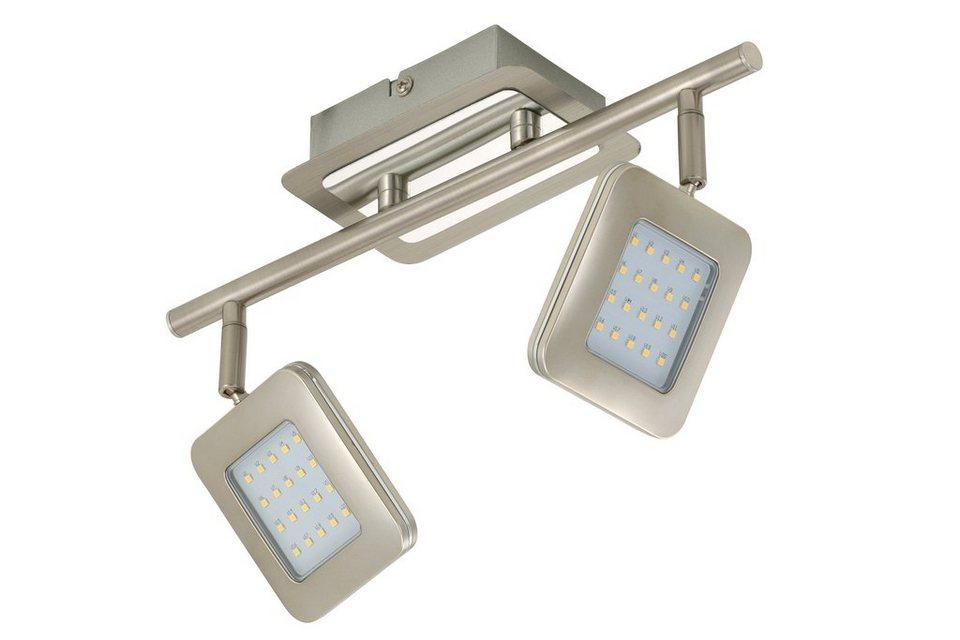 Briloner LED Deckenleuchte »Bassa«, 4,5W in grau