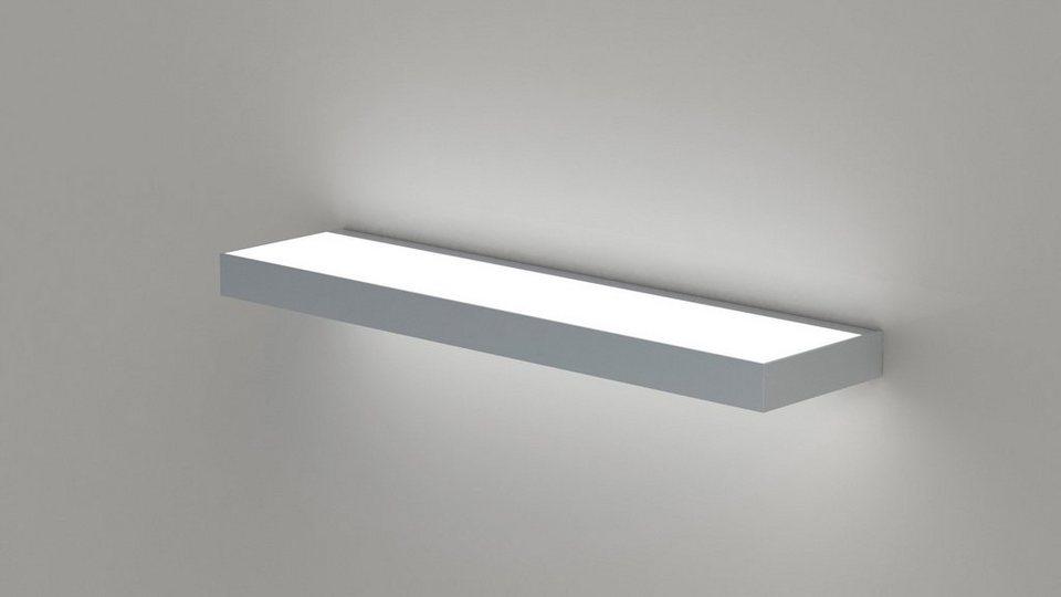 Regalboden inkl. Beleuchtung, Breite 60 cm in grau