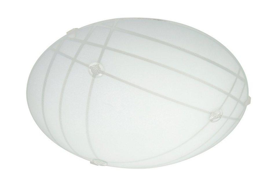 Briloner LED Deckenleuchte »Carre«, 12W in weiß