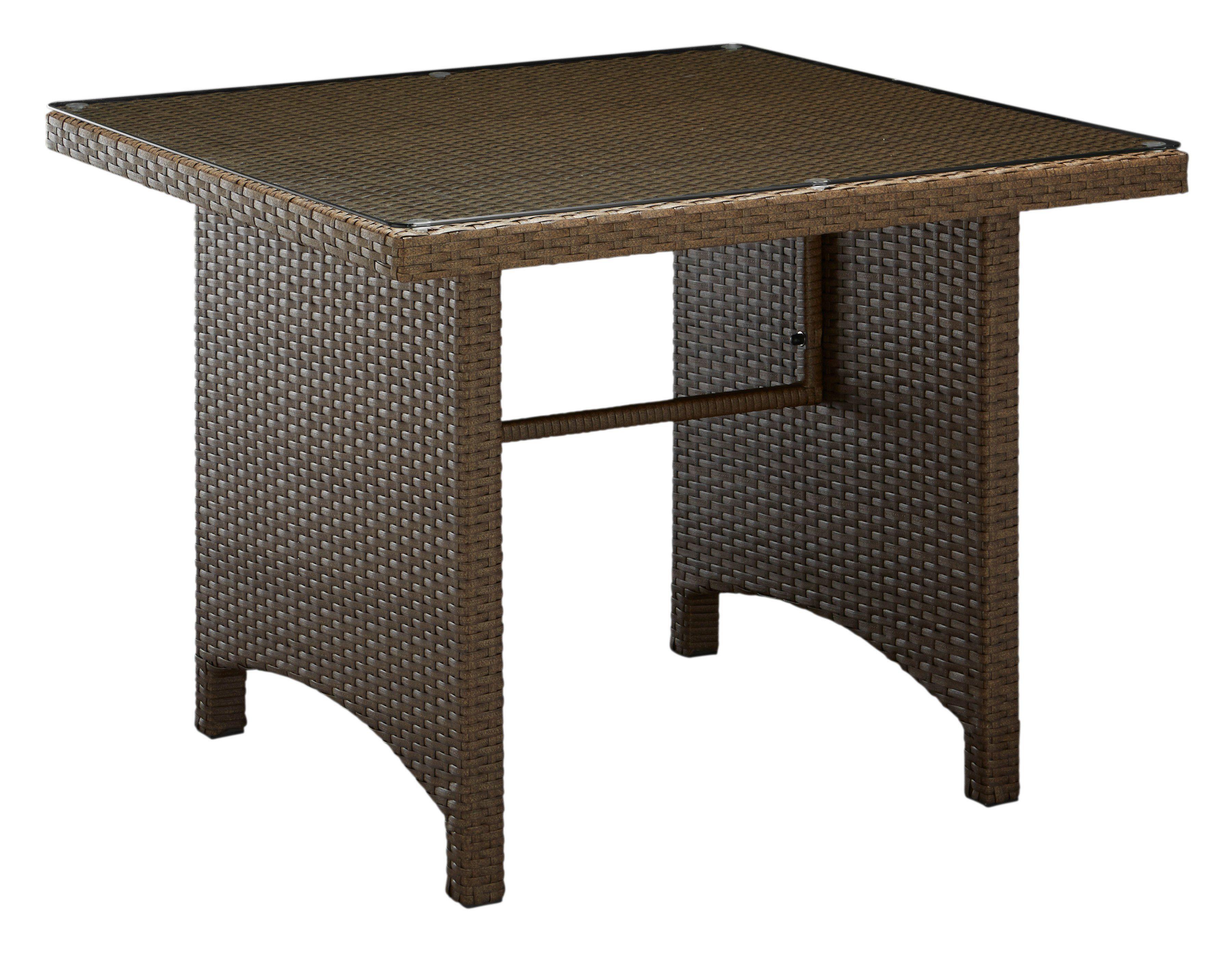 Tisch »Lanzarote« 90 x 90 cm