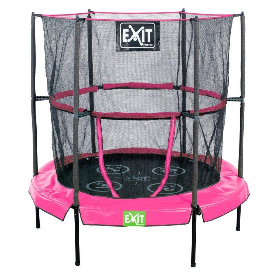 Exit Trampolin »EXIT Bounzy Mini Trampoline« pink