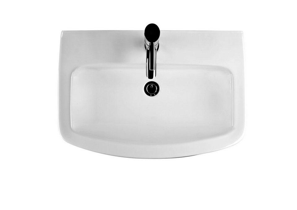 keramik waschtisch waschbecken mero breite 65 cm online kaufen otto. Black Bedroom Furniture Sets. Home Design Ideas