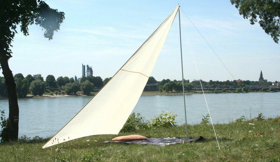 Sonnensegel »Camping - Dreiecksonnensegel« 300x300cm in weiß