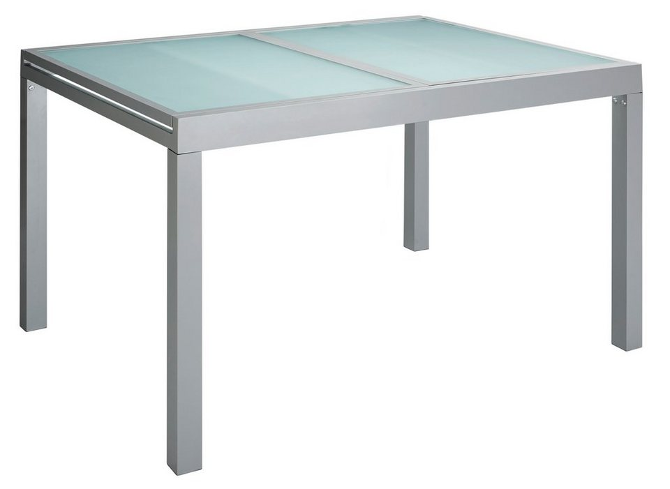 Gartentisch ausziehbar  Gartentisch »Lima«, Aluminium, ausziehbar, silber | OTTO