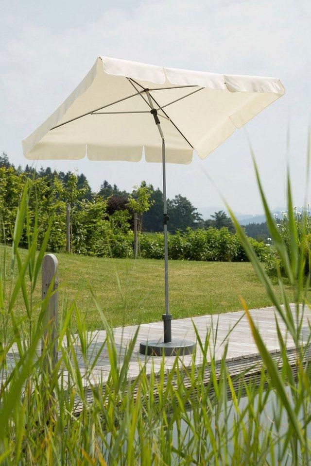 SCHNEIDER SCHIRME Sonnenschirm »Locarno«, 180x120 cm in natur